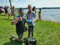 Makšķerēsanas sacensības bērniem Prūšu ūdenskrātuvē